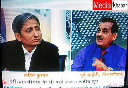 प्रतिबंध के दबाव में रवीश कुमार