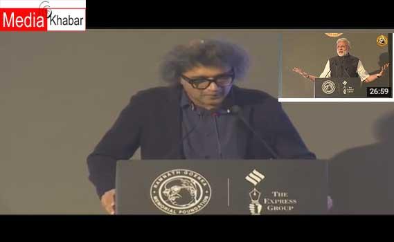 इंडियन एक्सप्रेस के संपादक राजकमल झा