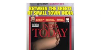 india today vulger cover page
