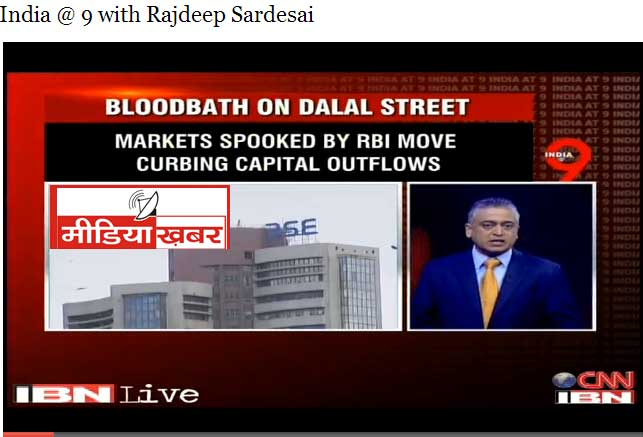 Bloodbath on CNN-IBN & IBN-7