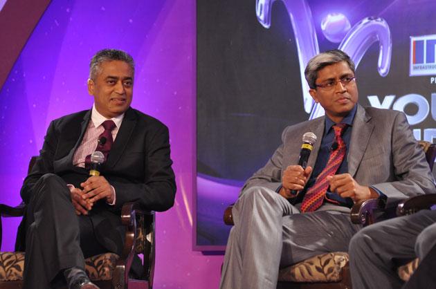 राजदीप सरदेसाई और आशुतोष : साथ - साथ