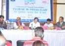 CLUB 60 के मंच पर पत्रकार-फिल्मकार विनोद कापड़ी