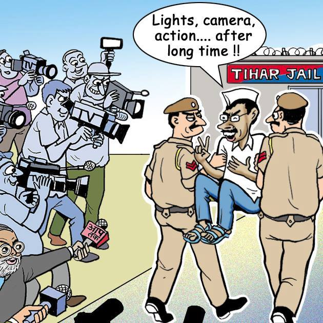 light camera action kejriwal