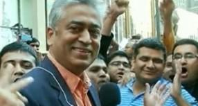 राजदीप की पिटाई को मोदी भक्तों से जोड़कर प्रधानमंत्री मोदी पर निशाना साधने की कवायद