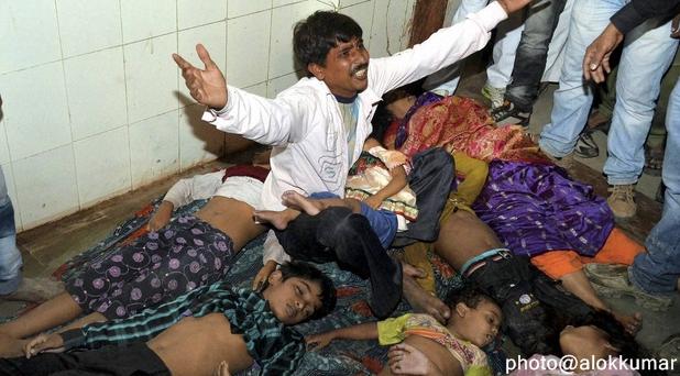 धिक्कार है बिहार सरकार पर