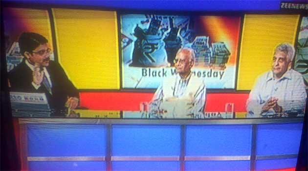 काले धन पर मोदी सरकार फटकार पड़ी तो जाग उठा न्यूज चैनलों का ईमान!