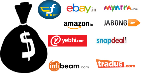 भारत में बढ़ता ऑनलाइन कारोबार