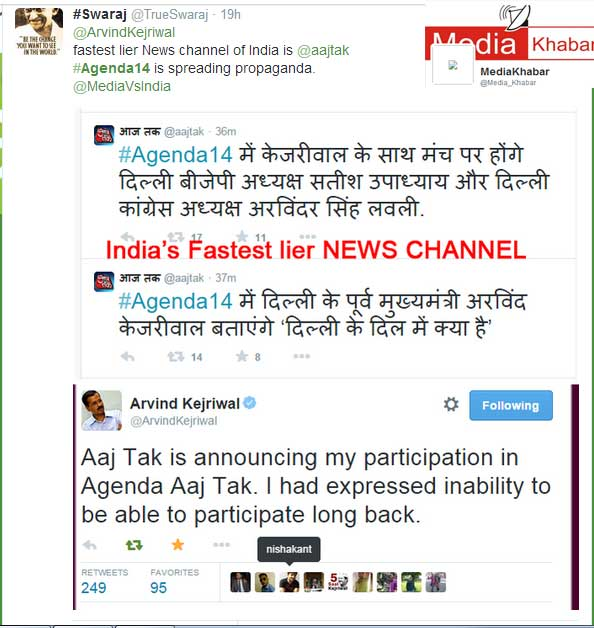 India's Fastest Lier News Channel-Aaj Tak