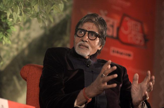 आजतक के एजेंडे में अमिताभ बच्चन