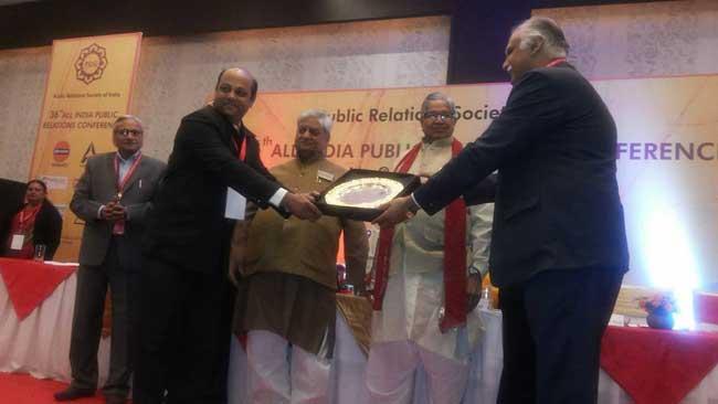 "पत्रकारिता विश्वविद्यालय की लघु फिल्म ""एक भारतीय आत्मा"" पी.आर.एस.आई. अवॉर्ड से सम्मानित"