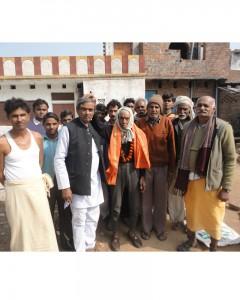 गणेश शंकर विद्यार्थी प्रेस क्लब ने किया सुशासन दिवस पर वृद्धजनों का सम्मान