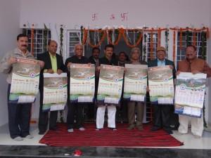 पत्रकारिता विश्वविद्यालय के कैलेण्डर का विमोचन सम्पन्न,जनसंपर्क मंत्री श्री राजेन्द्र शुक्ल ने किया कैलेण्डर का विमोचन