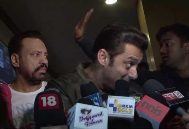 सलमान खान को रिपोर्टर की नीयत पर शक हुआ तो करने लगे बदतमीजी