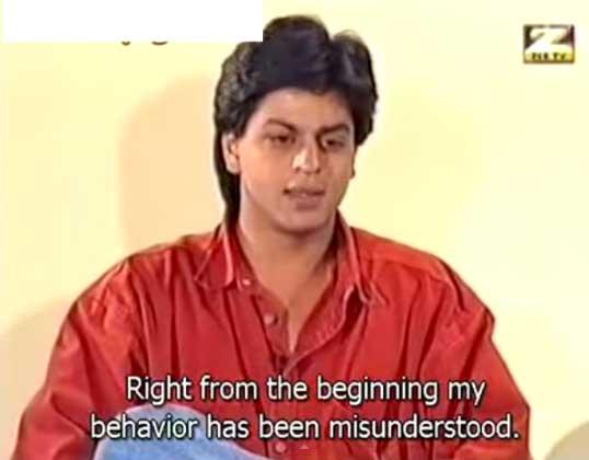आप की अदालत में शाहरुख खान का इंटरव्यू, वर्ष 1994
