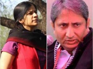 दिल्ली चुनाव के संदर्भ में रवीश कुमार और संगीता तिवारी द्वारा लिया इंटरव्यू अरसे तक याद रहेगा