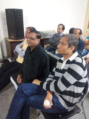 संघ के होली मिलन समारोह में रवीश कुमार