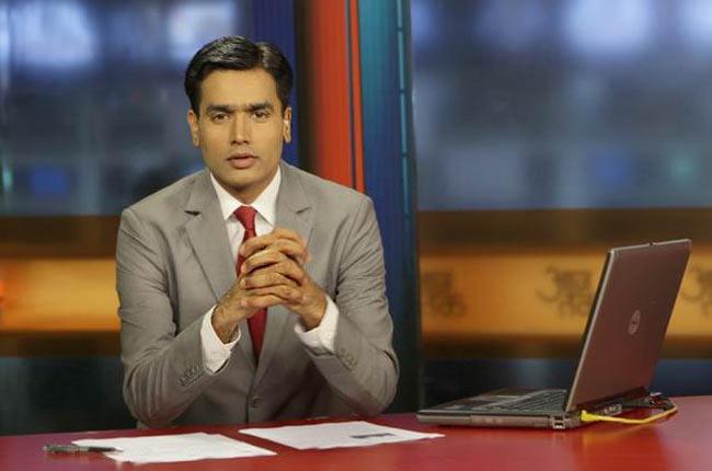 sayeed ansari,Anchor