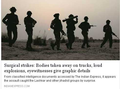 india express report on surgical strike