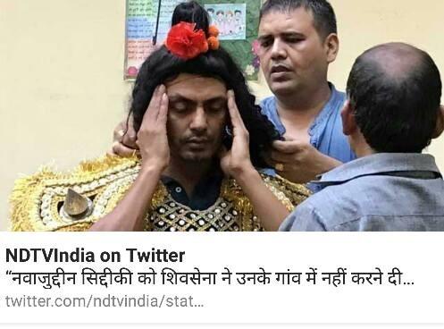 NDTV के एंटी हिन्दू स्टैंड की एक और बानगी देखिये