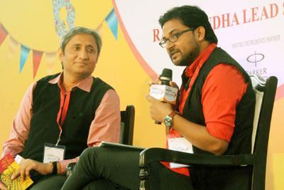रवीश कुमार के मूकाभिनय पर विनीत कुमार की रिपोर्ट