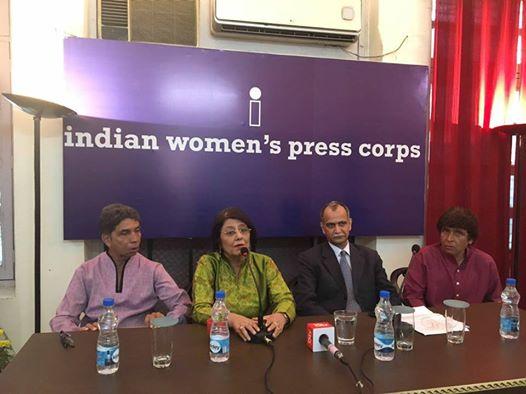 इंडियन वीमेन प्रेस कोर के 22 साल पूरे,5 नवंबर को सालन जलसा