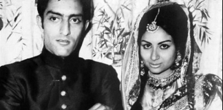 sharmila tagore and navab ali khan pataudi