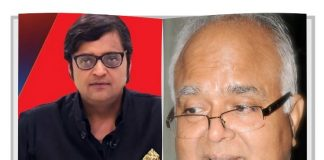 arnab goswami and om thanvi image
