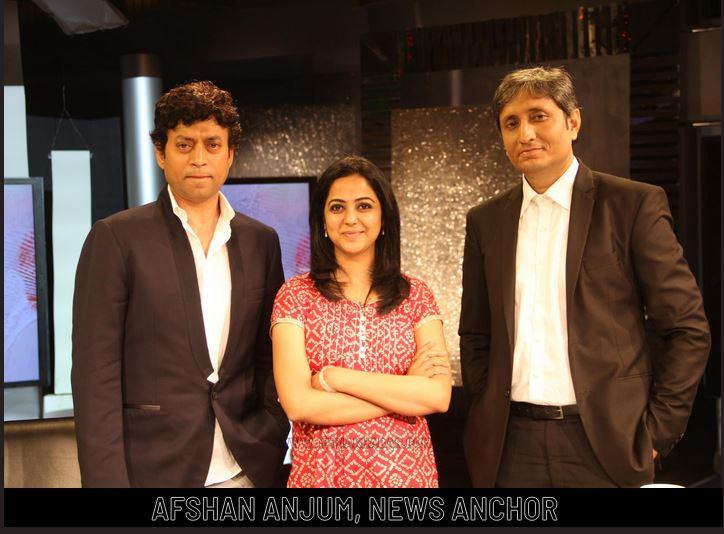Afshan Anjum anchor