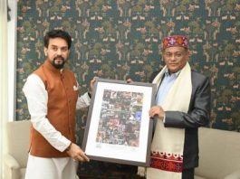 Information and Broadcasting Ministers of India and Bangladesh meet