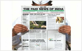 paid news of india